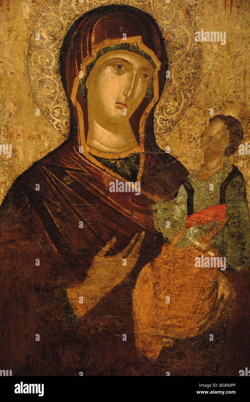 Icons of the Virgin. Icon Tenderness of the Blessed Virgin. Miracle-working icons