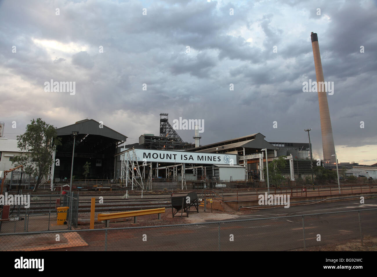 Mt Isa mines-Mt Isa-QLD-Australia - Stock Image