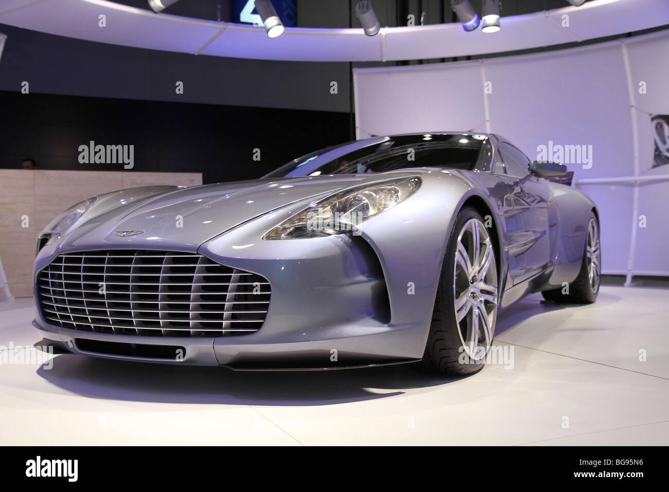 Aston martin One 77 - Stock Image