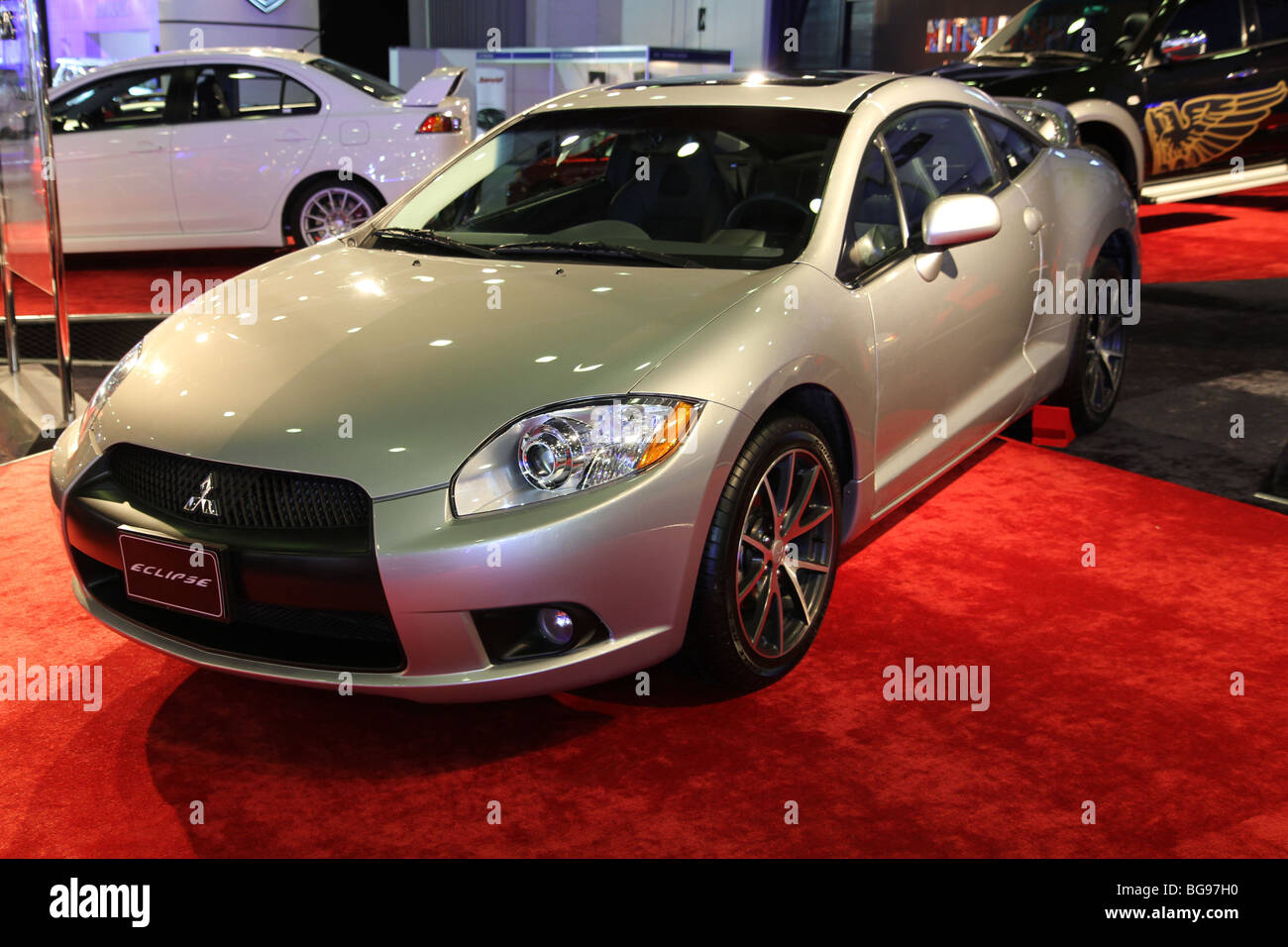 Perfect 2010 Mitsubishi Eclipse Coupe   Stock Image