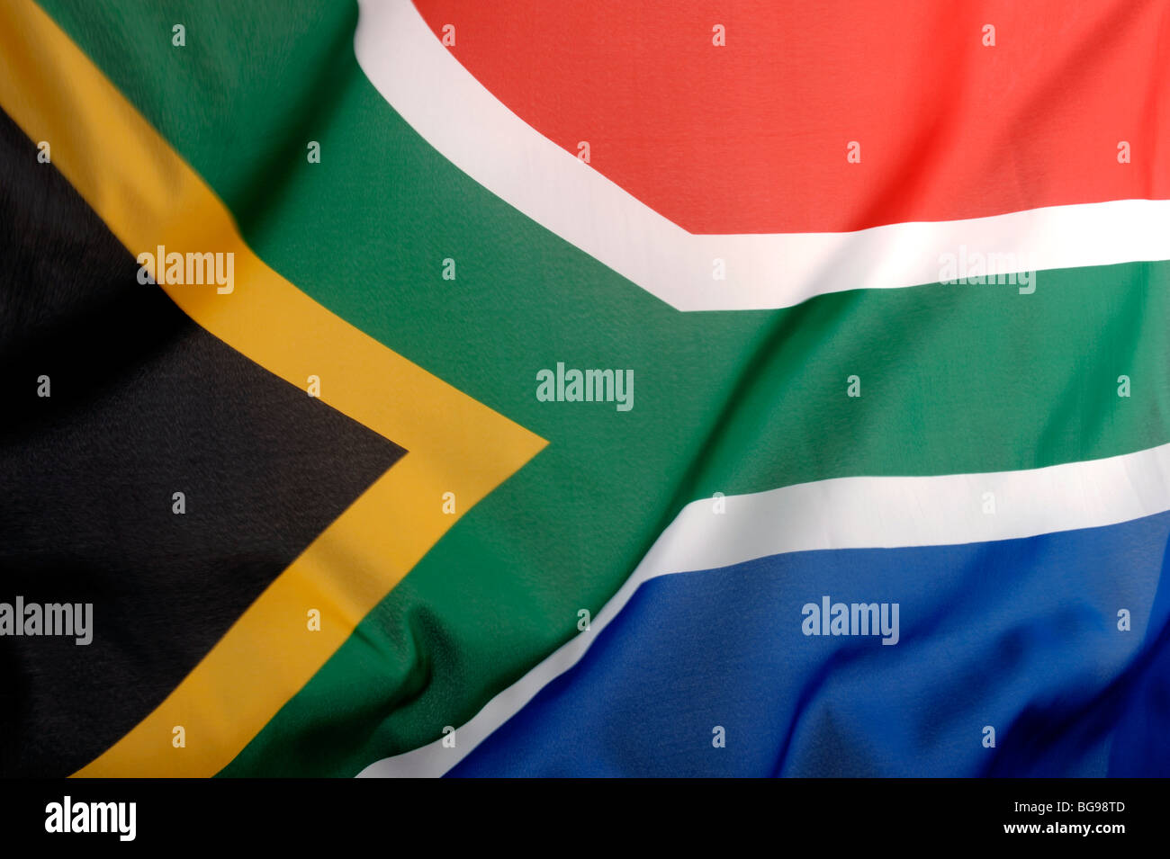 South Africa flag - Stock Image