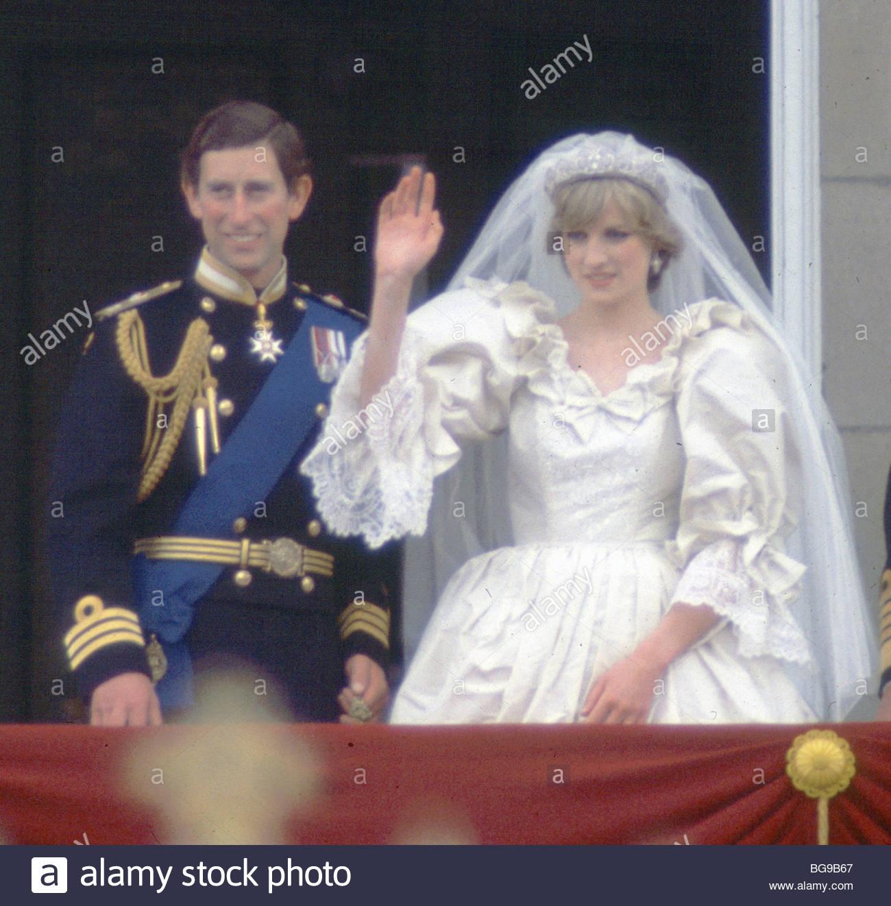 Princess Diana Prince Charles Buckingham Palace Balcony Wedding