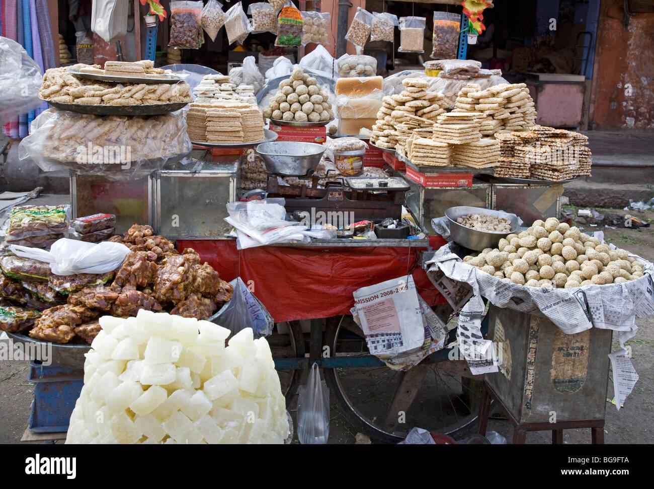 Sweets. Calcutta (Kolkata). India - Stock Image