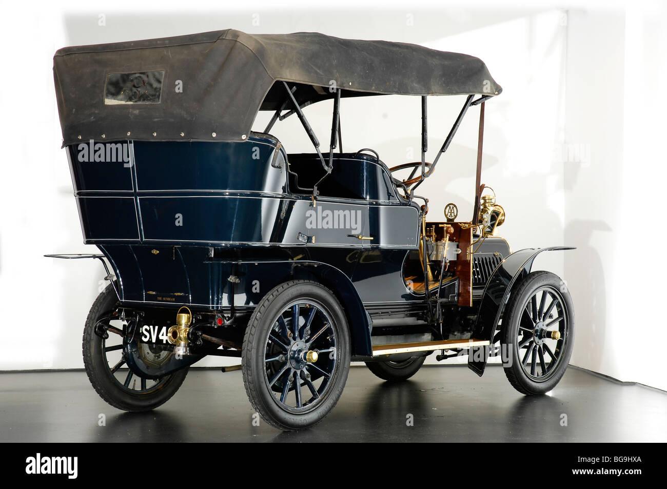 Sunbeam 1905 - Stock Image