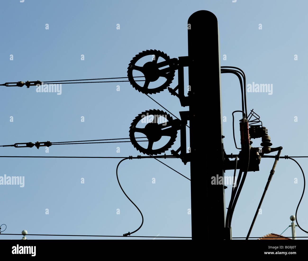Tram Wires Stock Photos & Tram Wires Stock Images - Alamy