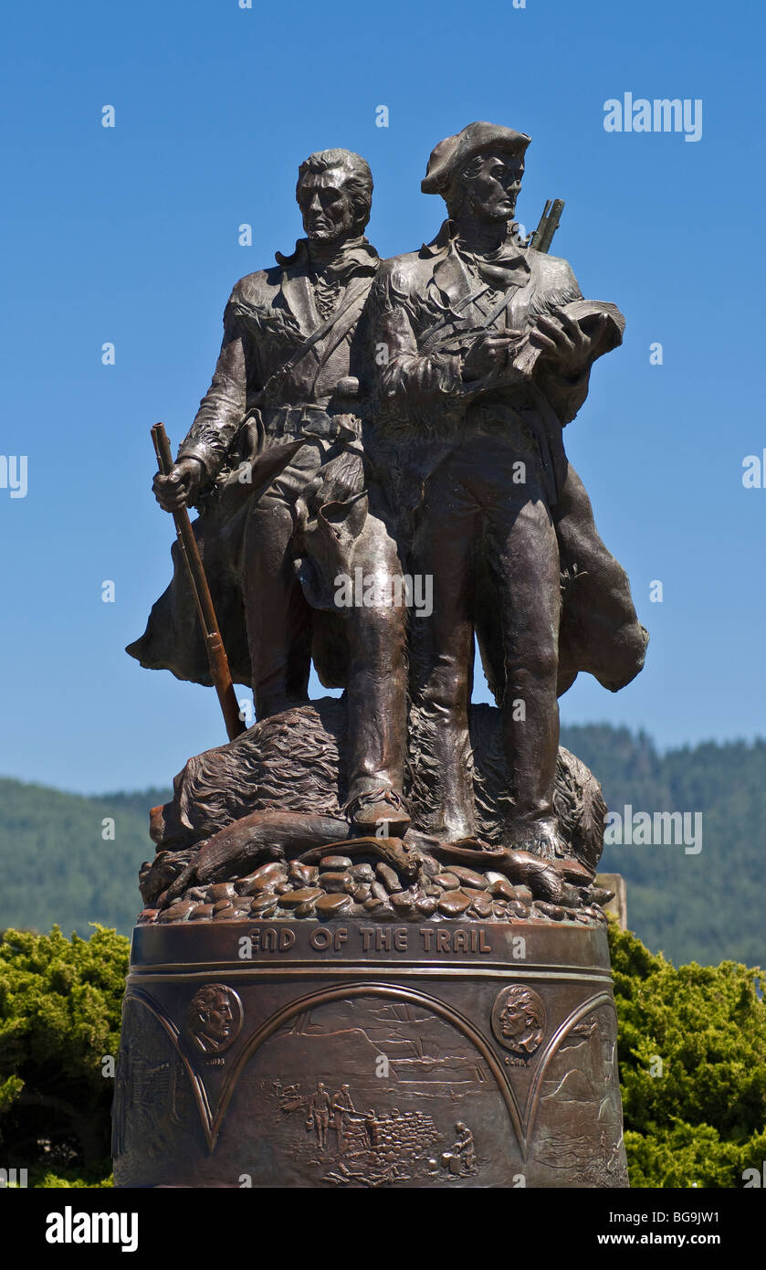 "Sell Wallpaper Lewis And Clark: Lewis And Clark ""End Of The Trail"" Bronze Statue On The"