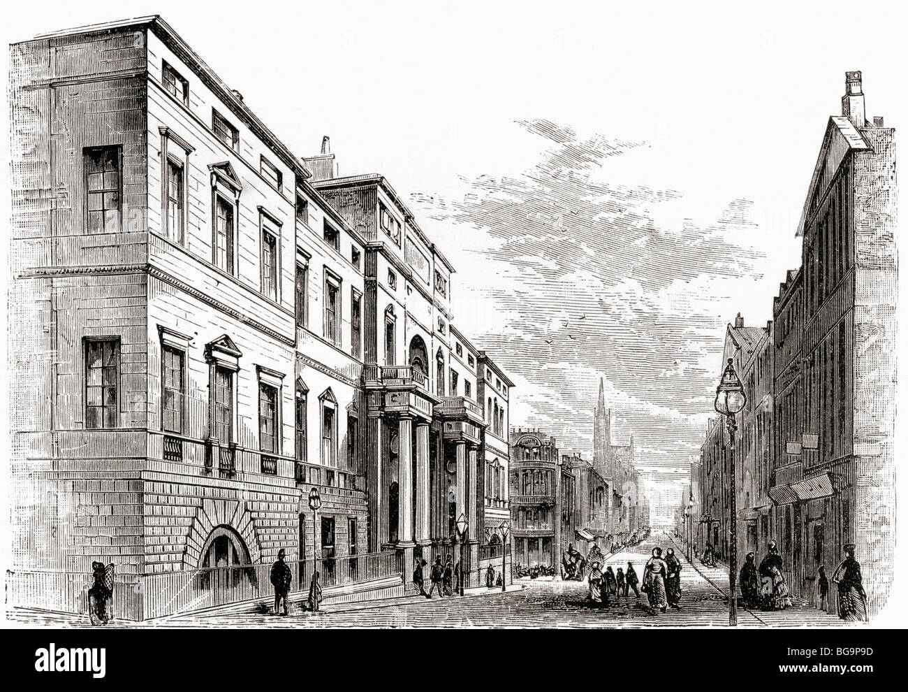 19th Century Edinburgh Stock Photos & 19th Century Edinburgh Stock ...