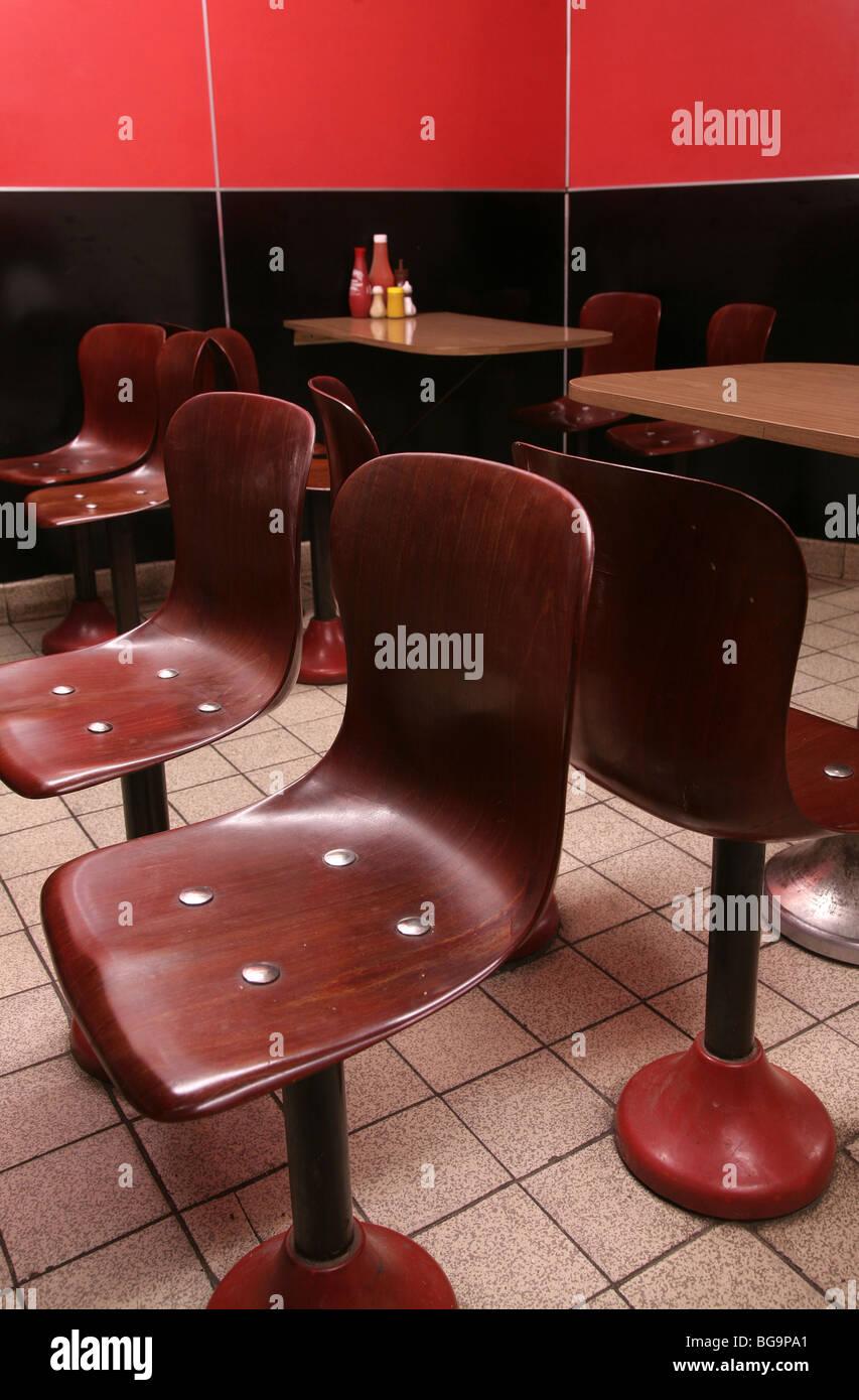 Gambardella cafe, south London - Stock Image