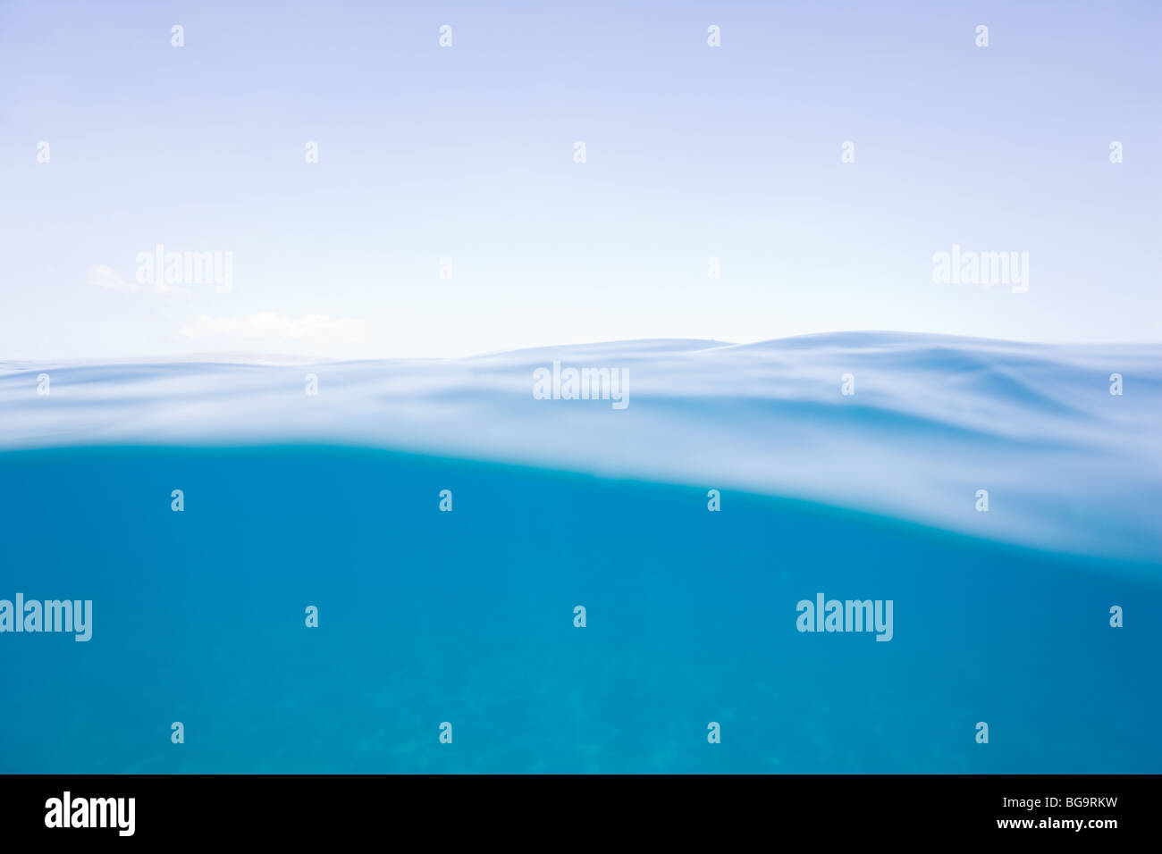 purity water background - Stock Image
