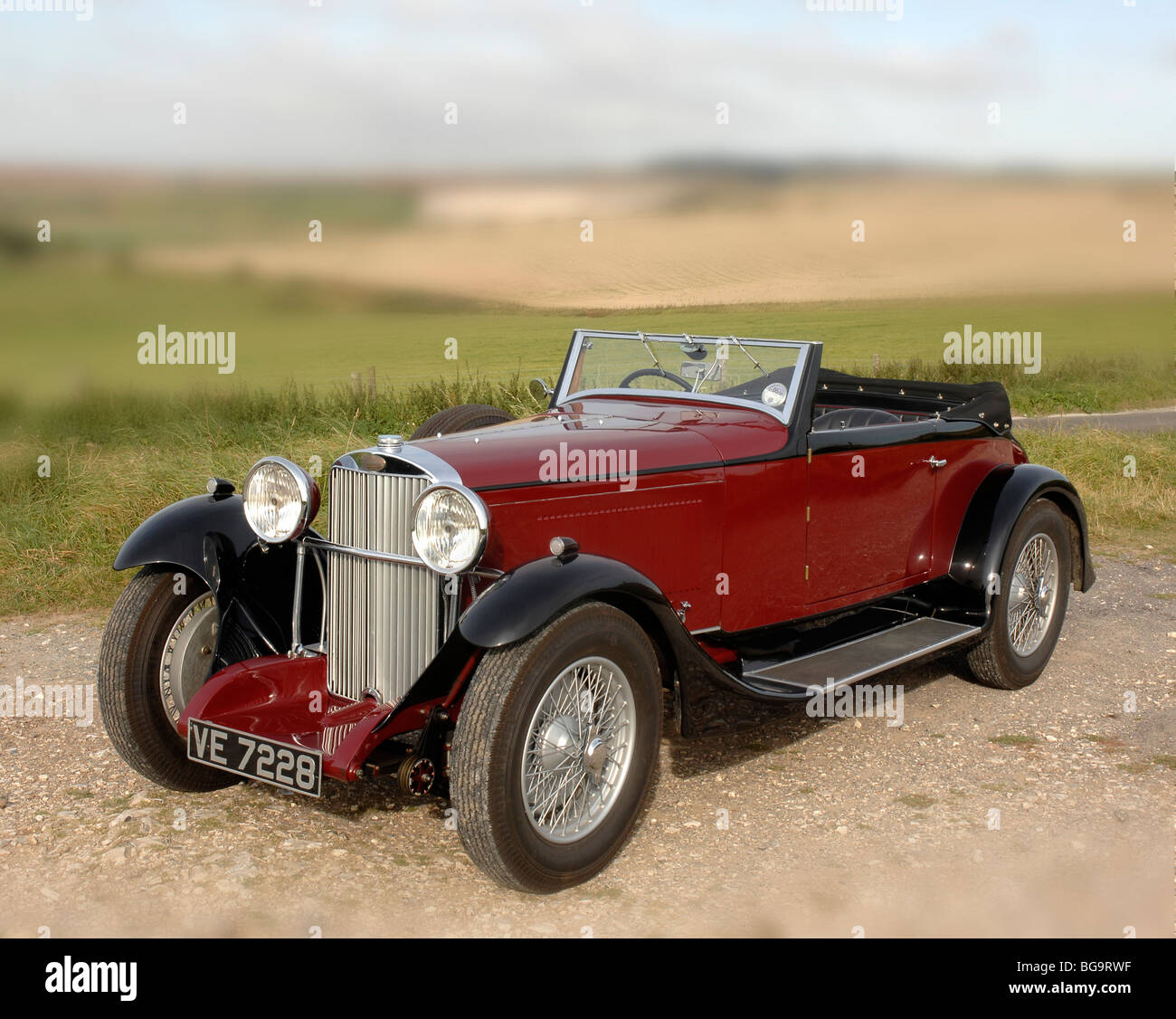 Sunbeam 23.8hp Tourer 1932 - Stock Image
