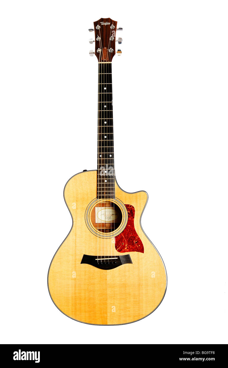 Electro Acoustic Guitar - Stock Image