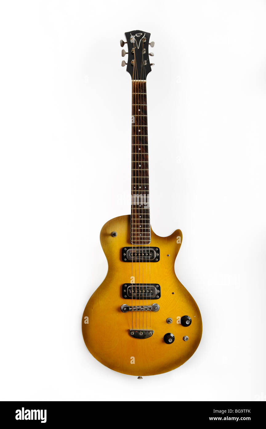 Rosetti Triumph, electric guitar - Stock Image