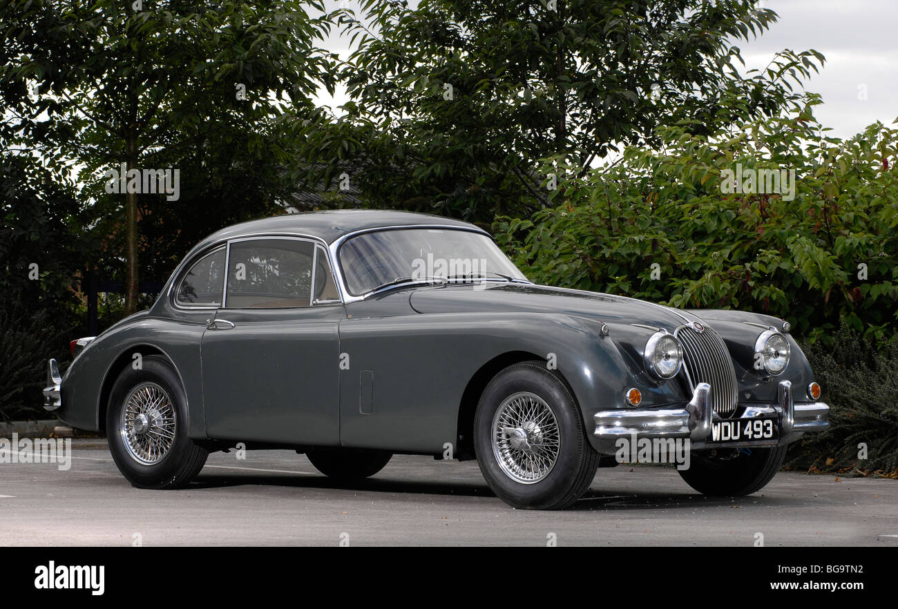 Jaguar Coupe Stock Photos Images Alamy Wiring Diagrams 1957 Xk140 Xk150 Prototype 1958 Image