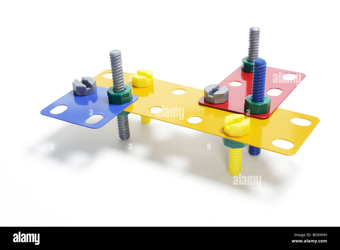 Toy Construction Set - Stock Image
