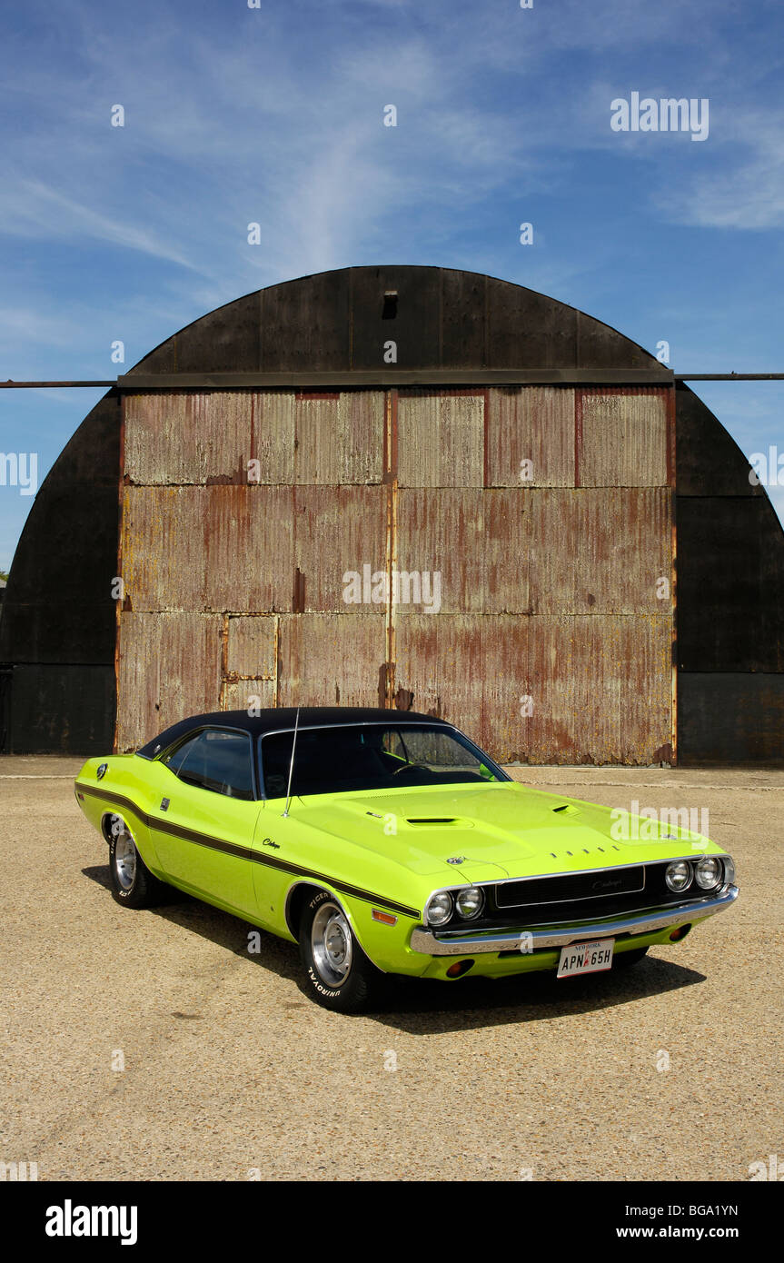 Dodge Challenger RT SE 1970 Stock Photo
