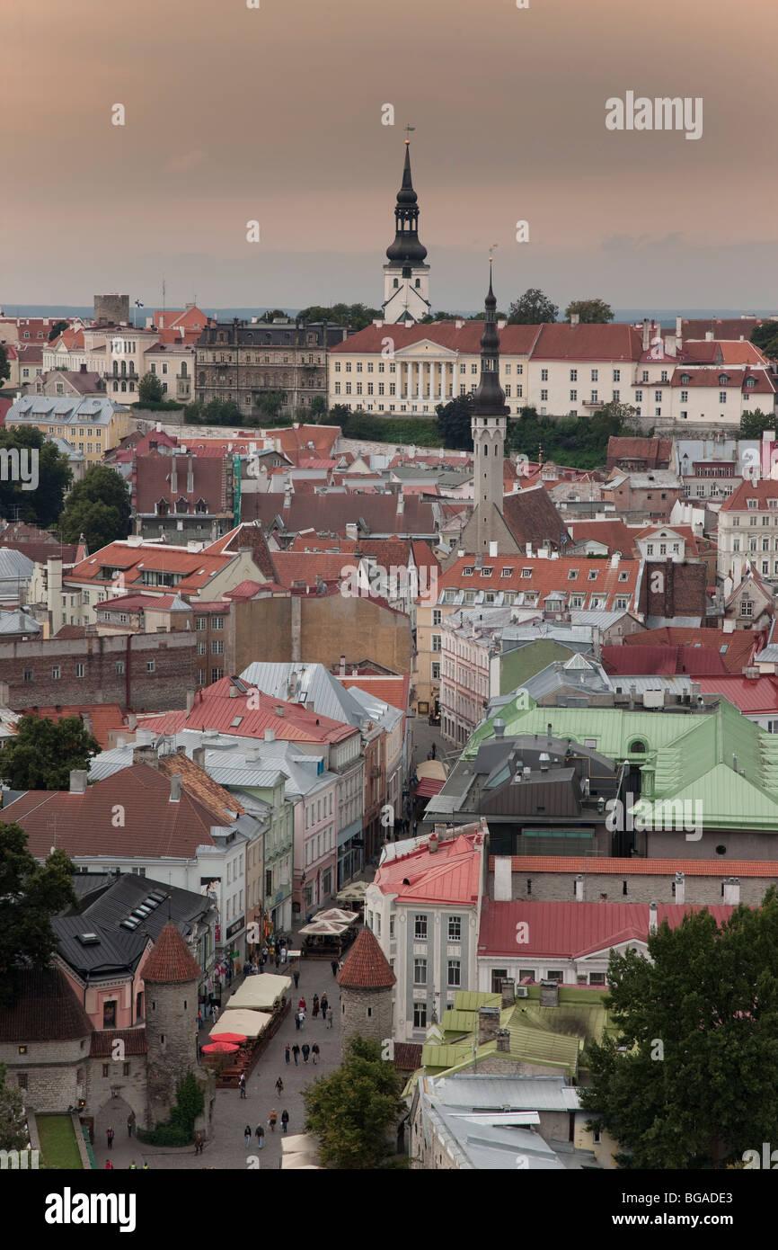 Europe. Baltic States. Estonia. Tallinn. Stock Photo
