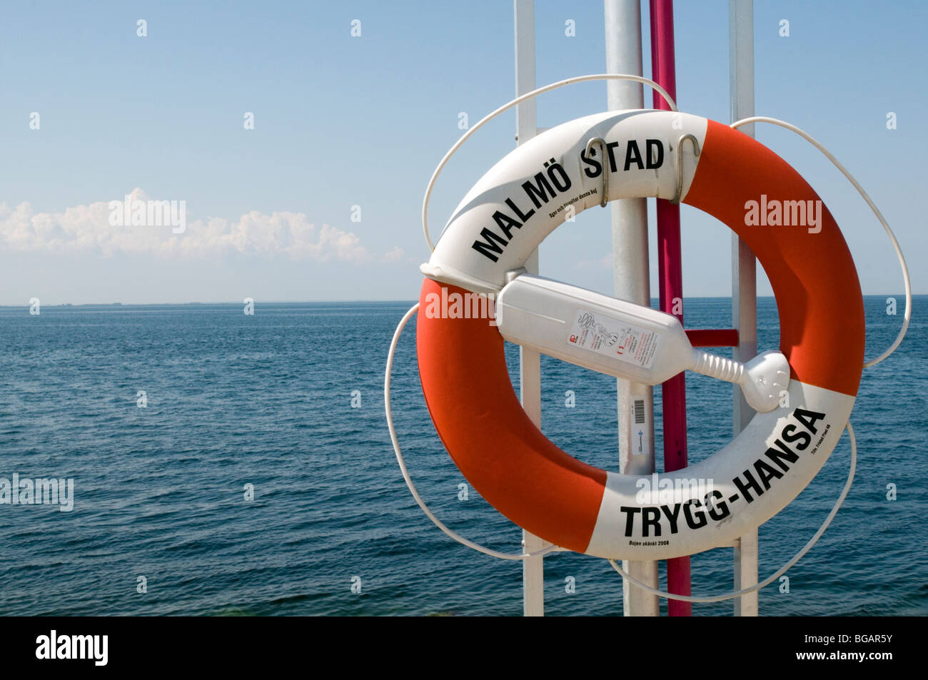 lifebelt lifebelts life belts belt ring lifeguard lifeguards life guards guard safety  Lifebelt, life, belt, ring, - Stock Image