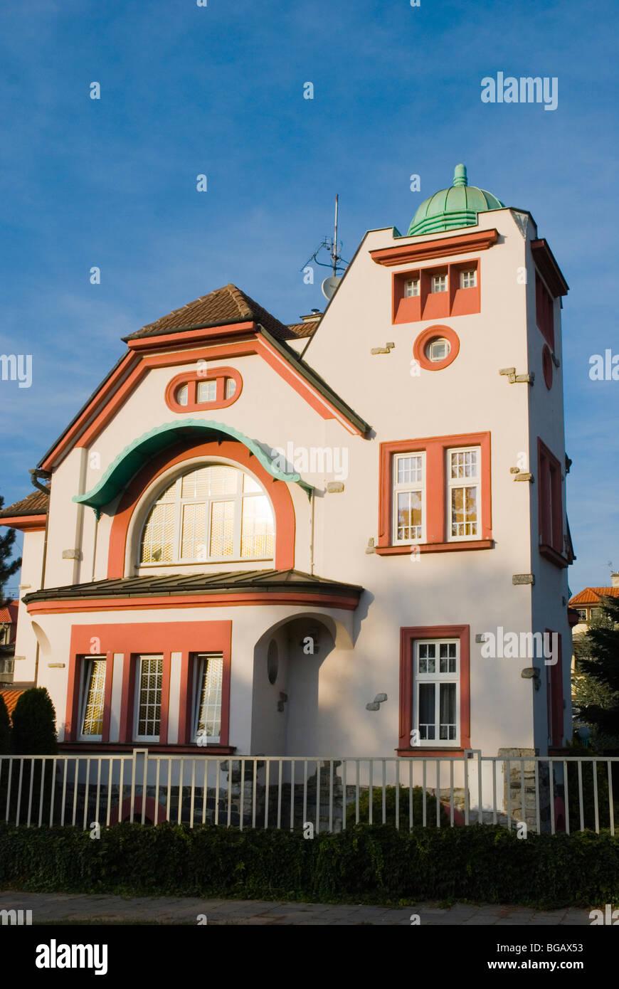 Domestic house Olomouc Czech Republic Europe - Stock Image