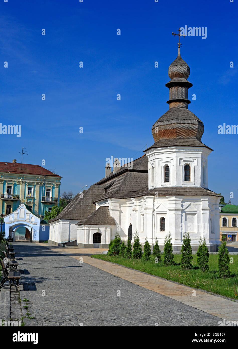 Church of St. John the Divine (1713), St. Michael's Golden-Domed monastery, Kiev, Ukraine - Stock Image