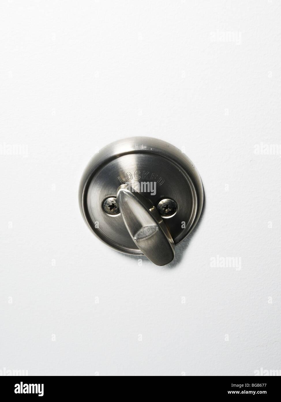 Door Lock - Stock Image