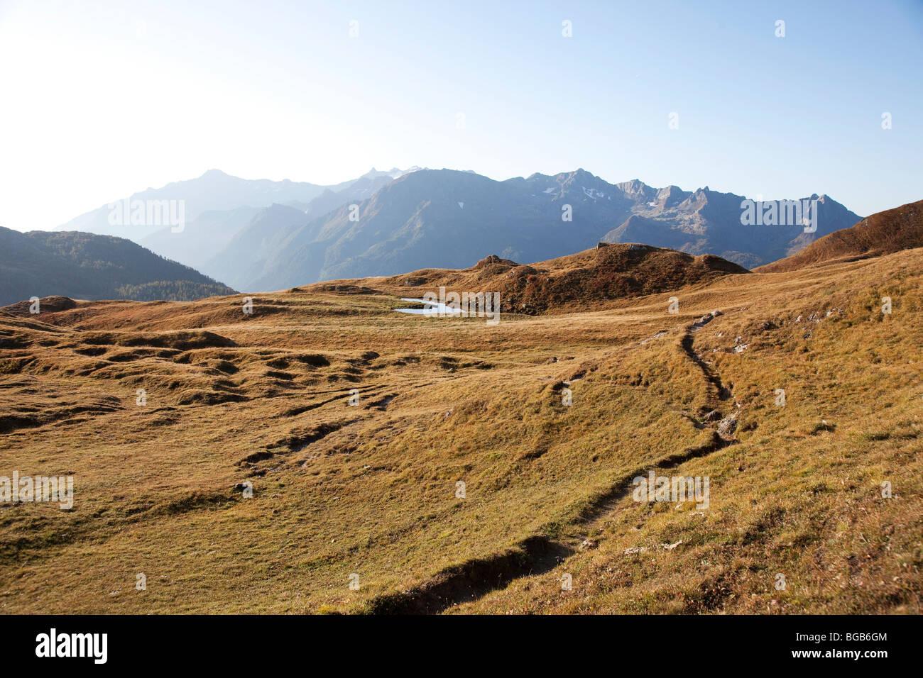 Switzerland. Canton Tessin. Val Piora. Stock Photo