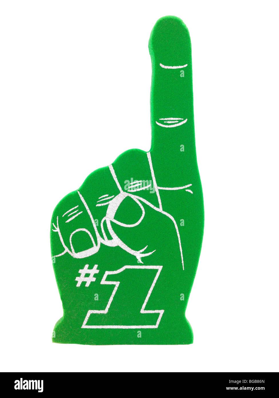 Foam Finger #1 - Stock Image