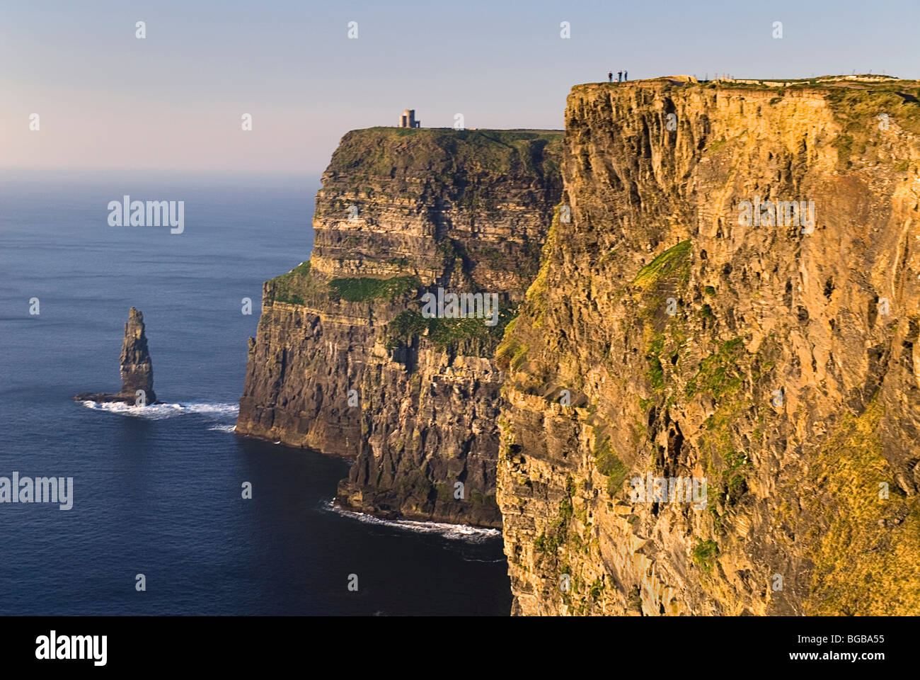Ireland County Clare Cliffs of Moher - Stock Image