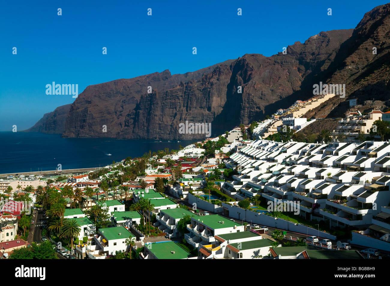 ACANTILADO DE LOS GIGANTES, TENERIFE, CANARIES ISLAND - Stock Image