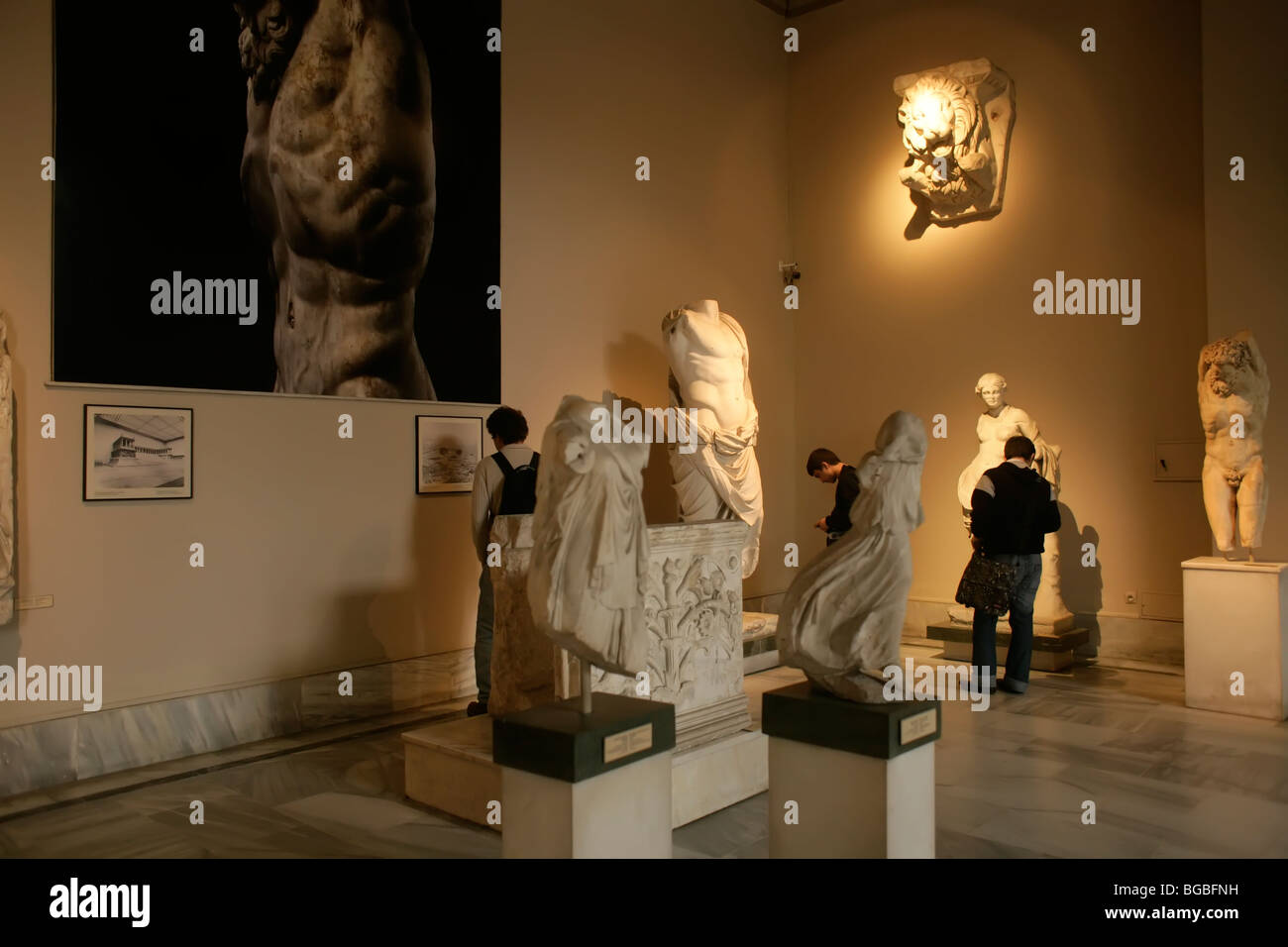 The Archaeological Museum in Istanbul, Turkey Stock Photo