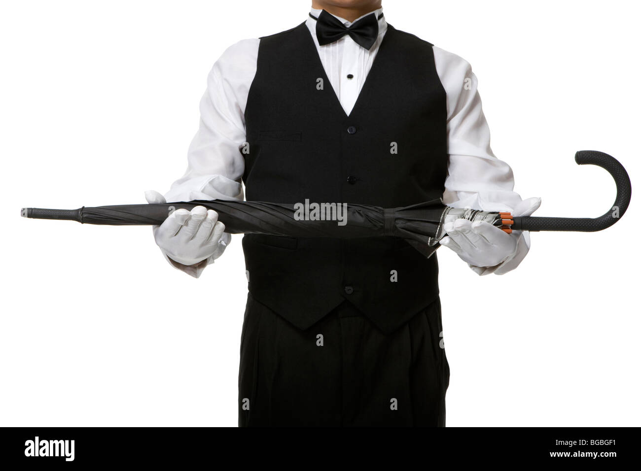 Hotel Doorman - Stock Image