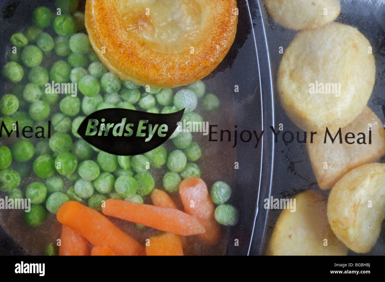 Birds Eye traditional beef ready meal - Stock Image