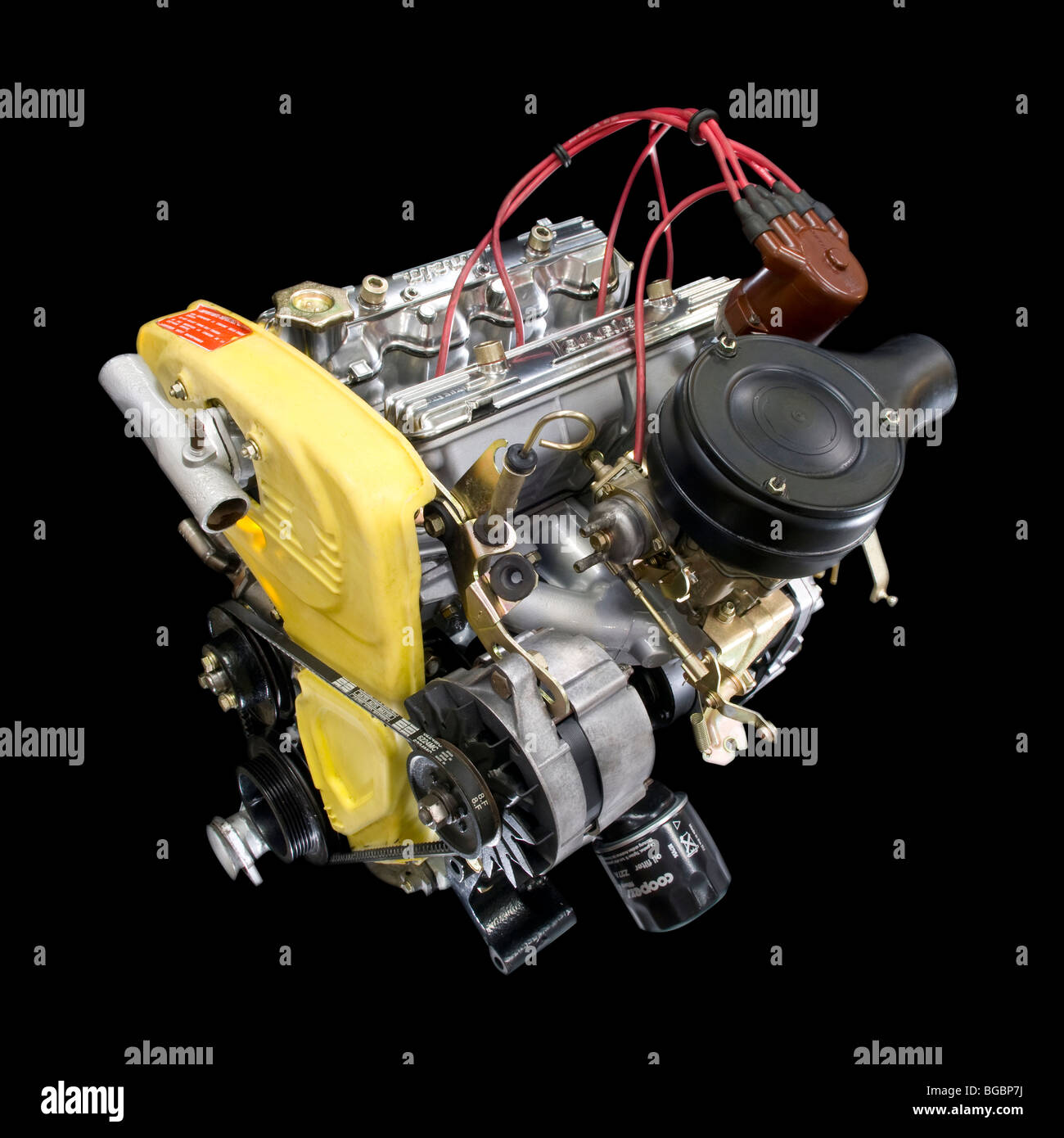 Lancia Monte Carlo Engine Cut Out - Stock Image