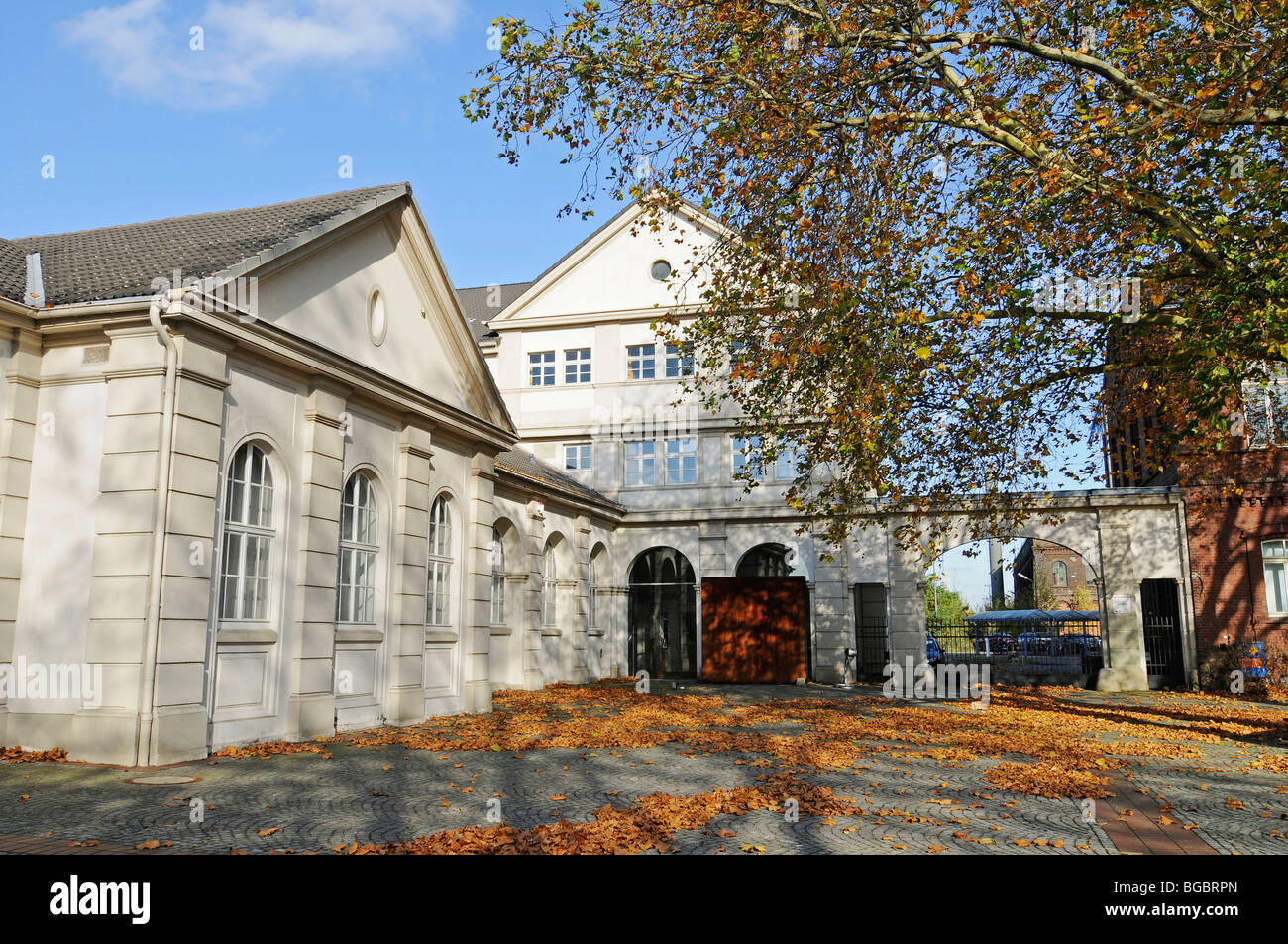 Hoesch Museum, Hoesch, steel industry, mining and steel-producing industries, Ruhrgebiet area, Dortmund, North Rhine - Stock Image