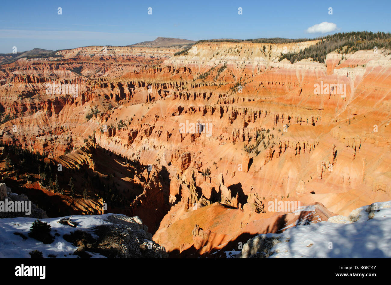 Spectra Point, Cedar Breaks National Monument, Dixie National Forest, Brian Head, Utah, USA - Stock Image