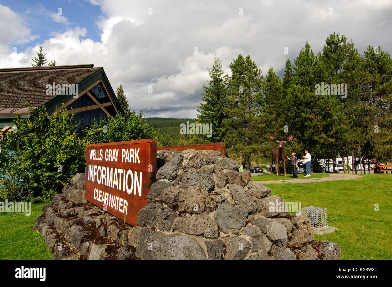 Wells Gray National Park, British Columbia, Canada - Stock Image
