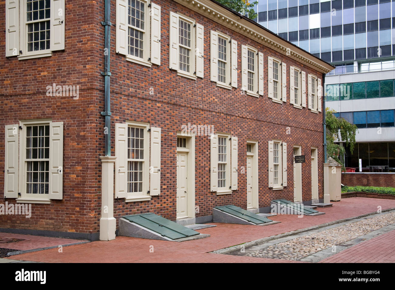 New Hall Military Museum, Independence National Historical Park, Philadelphia, Pennsylvania, USA - Stock Image