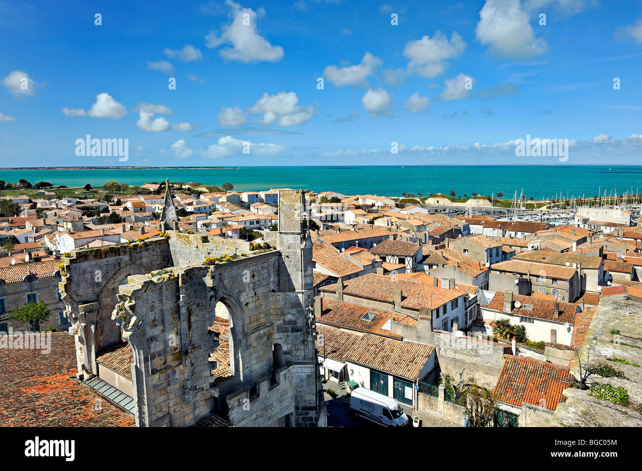 Saint Martin de Re, France. - Stock Image