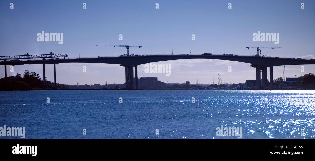 2nd Gateway Bridge construction Brisbane Australia - Stock Image