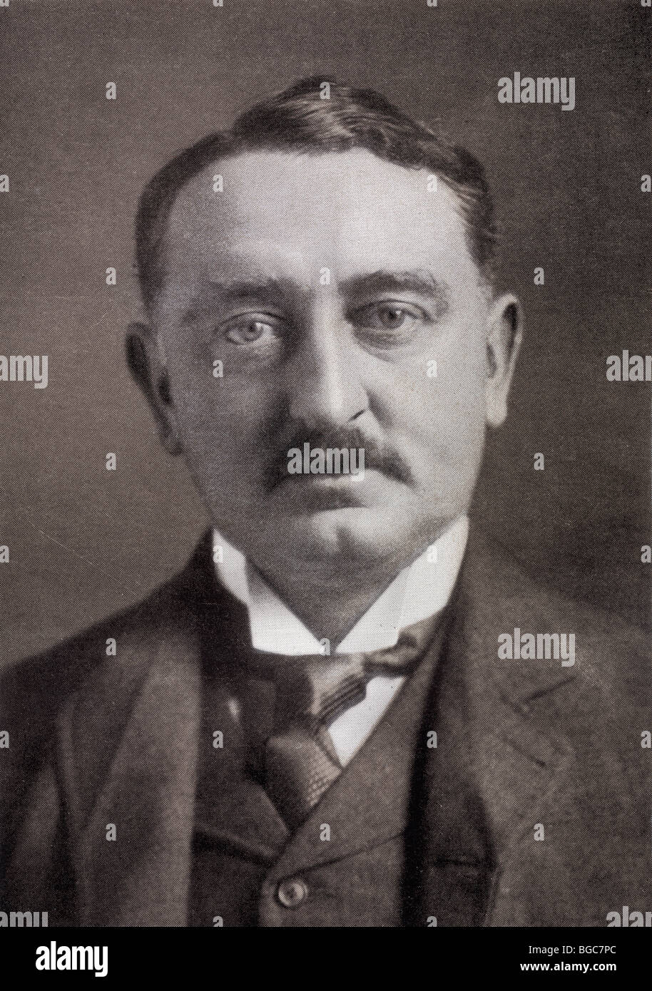 Cecil John Rhodes, 1853 - 1902. English-born, mining magnate and politician in South Africa. - Stock Image