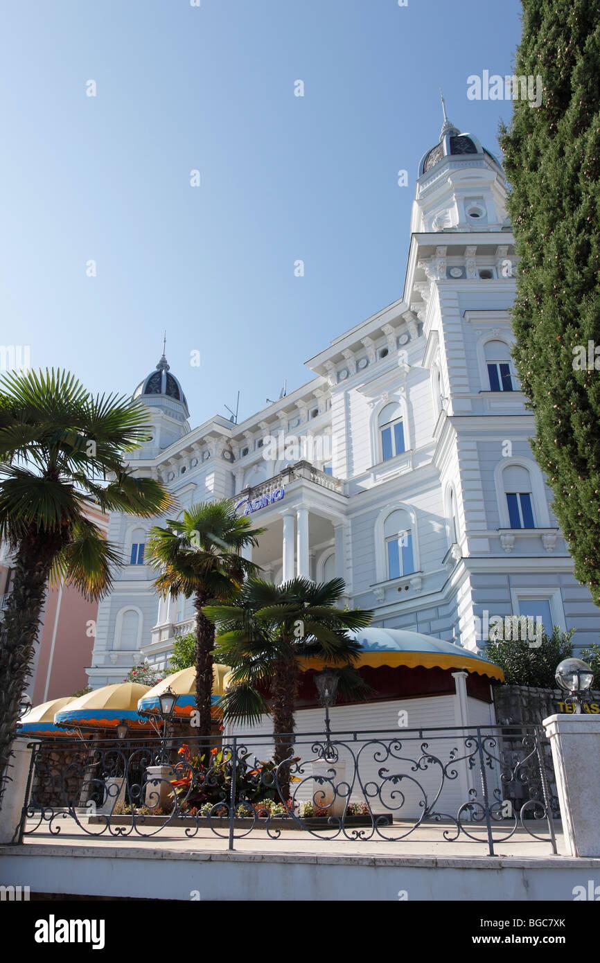 Admiral Casino, Opatija, Istria, Croatia, Europe Stock Photo