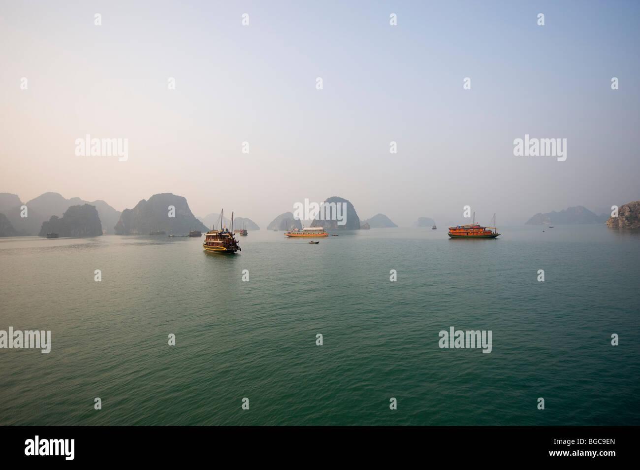 Halong Bay, Vietnam - Stock Image