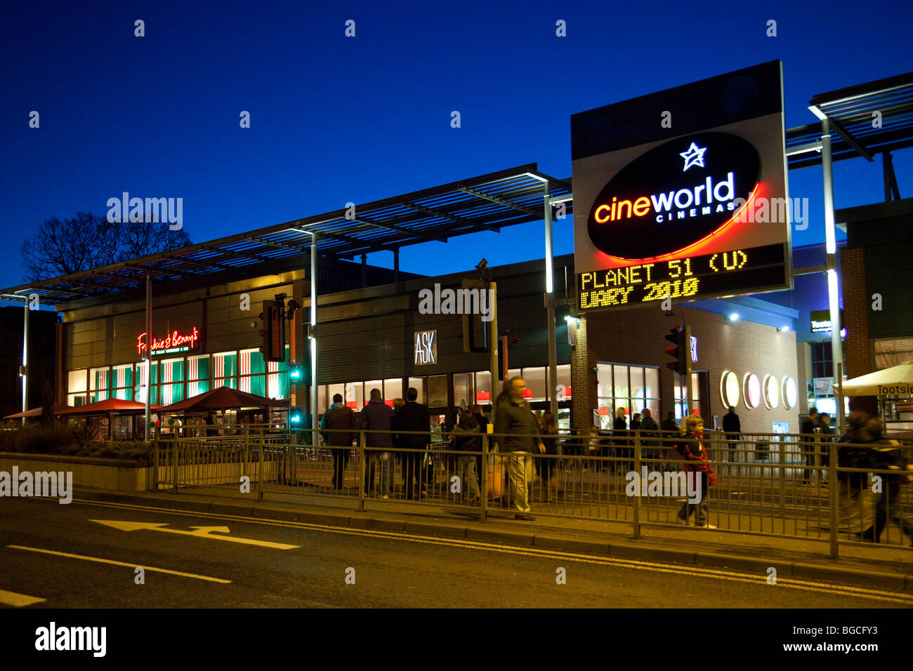 CineWorld cinema at Bury St Edmunds, Suffolk, UK - Stock Image