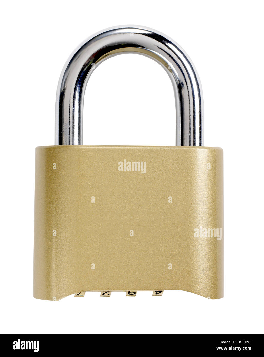 Combination Lock - Stock Image