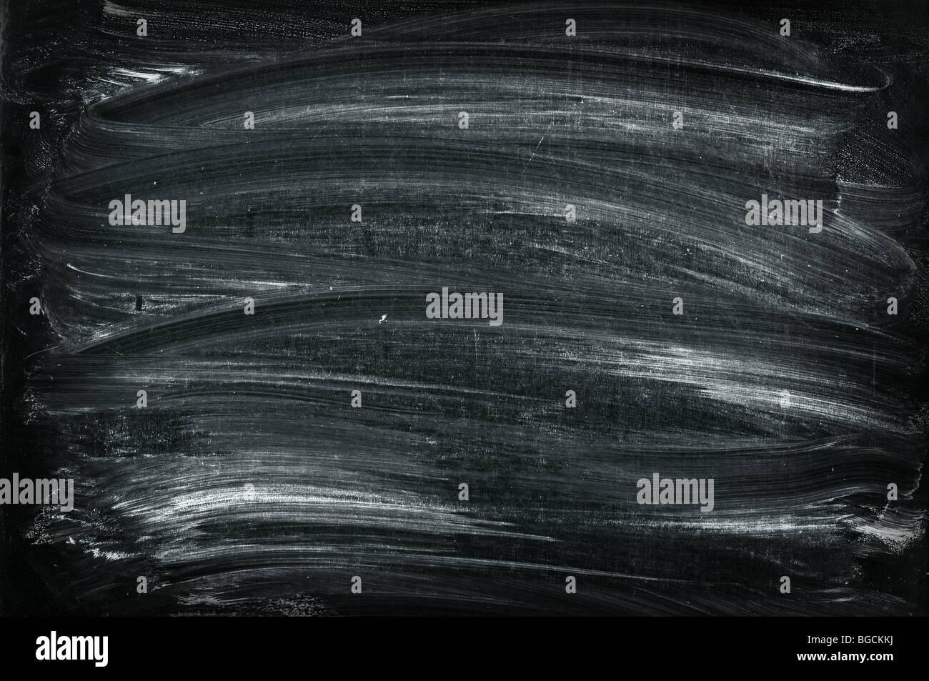 black blackboard texture - Stock Image