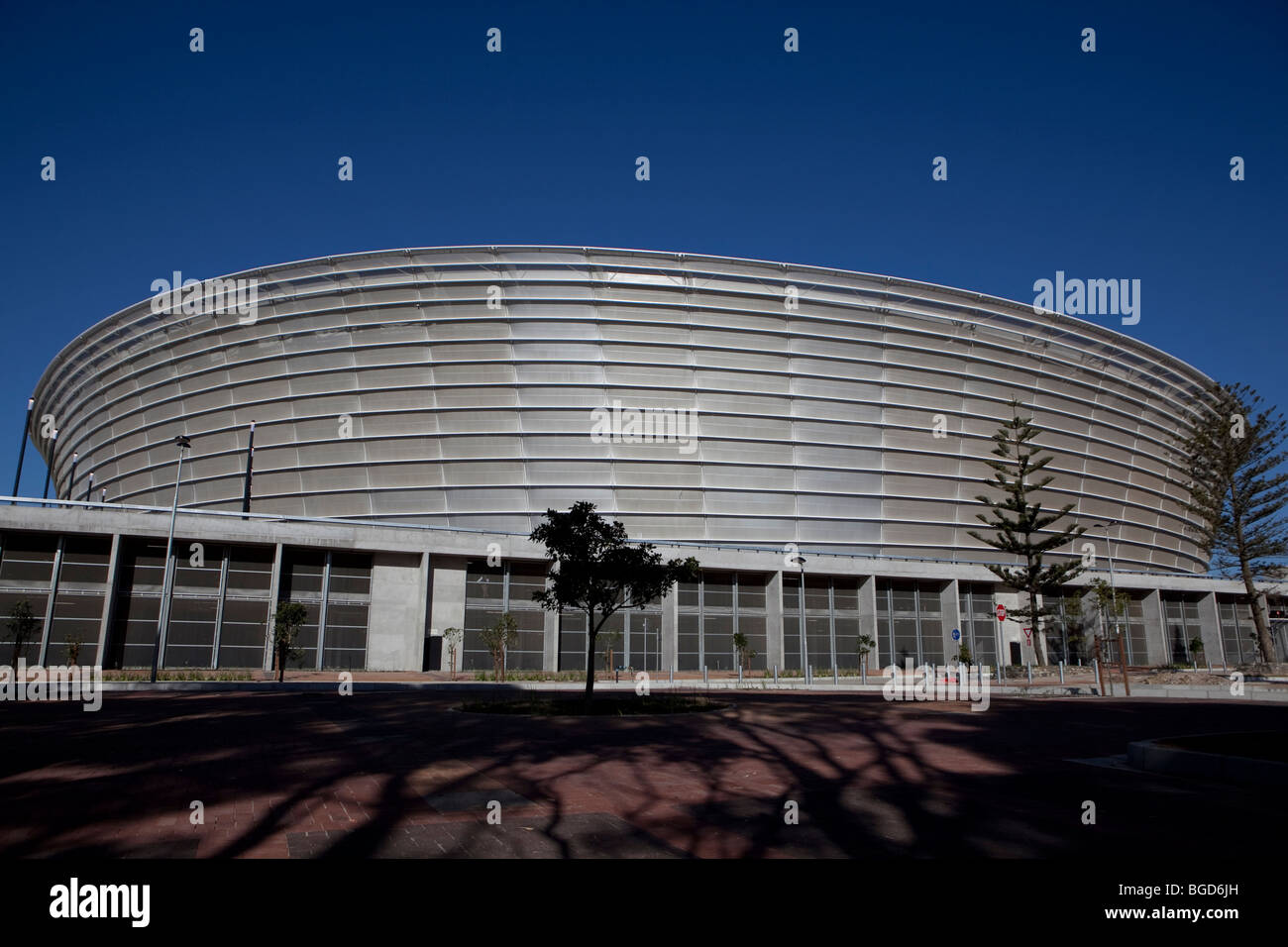 Greenpoint Soccer Stadium, Cape Town, South Africa - Stock Image