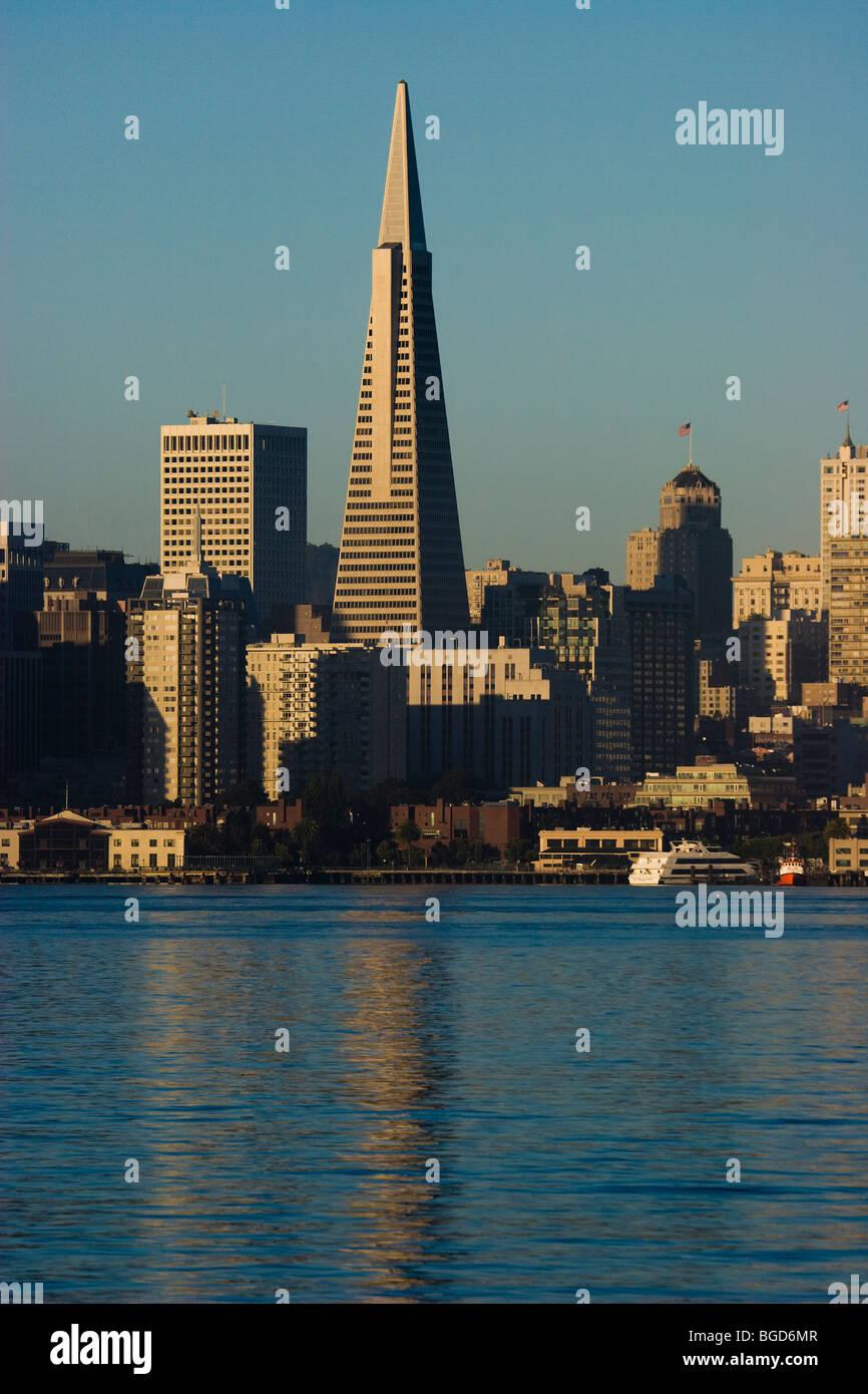 Transamerica Pyramid San Francisco California Usa Stock