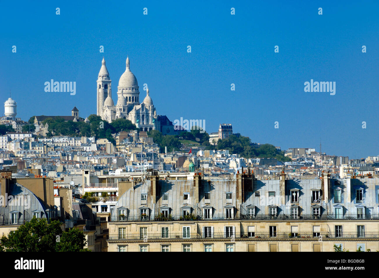 View of the Sacré Coeur Basilica or Church