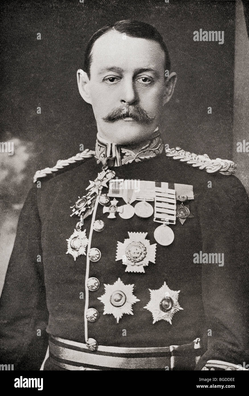 General Sir Archibald Hunter, 1856 to1936. - Stock Image