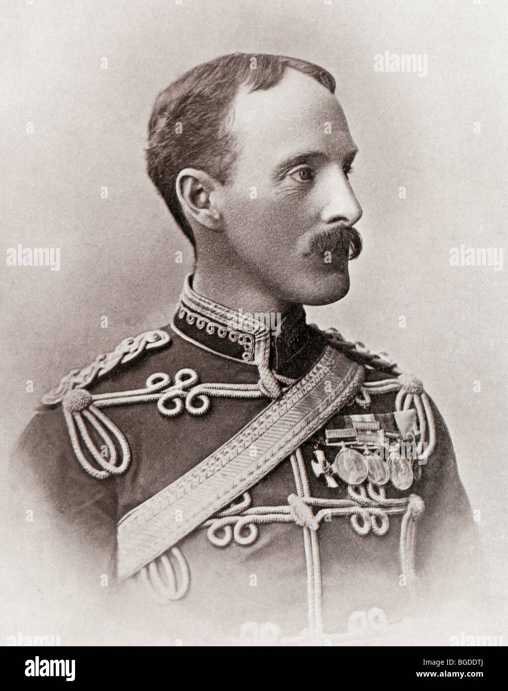 Sir Ian Standish Monteith Hamilton, 1853 to 1947. General in the British Army. Stock Photo