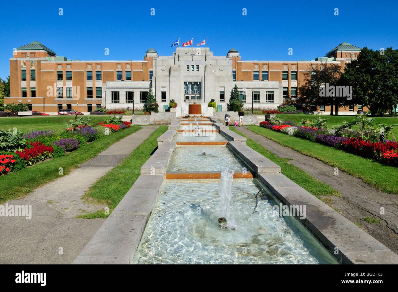 jardin botanique de montreal botanical garden of montreal quebec stock photo 27342535 alamy. Black Bedroom Furniture Sets. Home Design Ideas